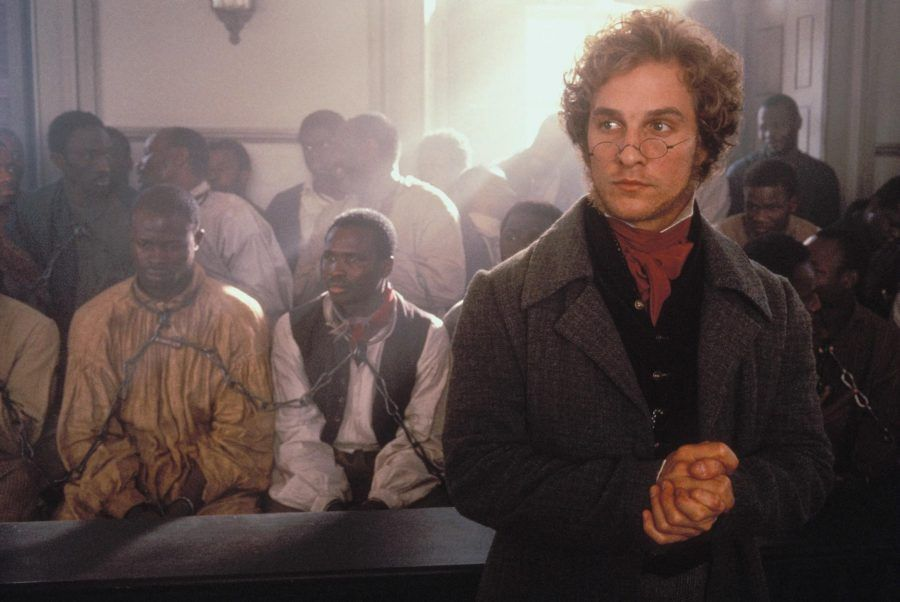 Matthew McConaughey nel film Amistad