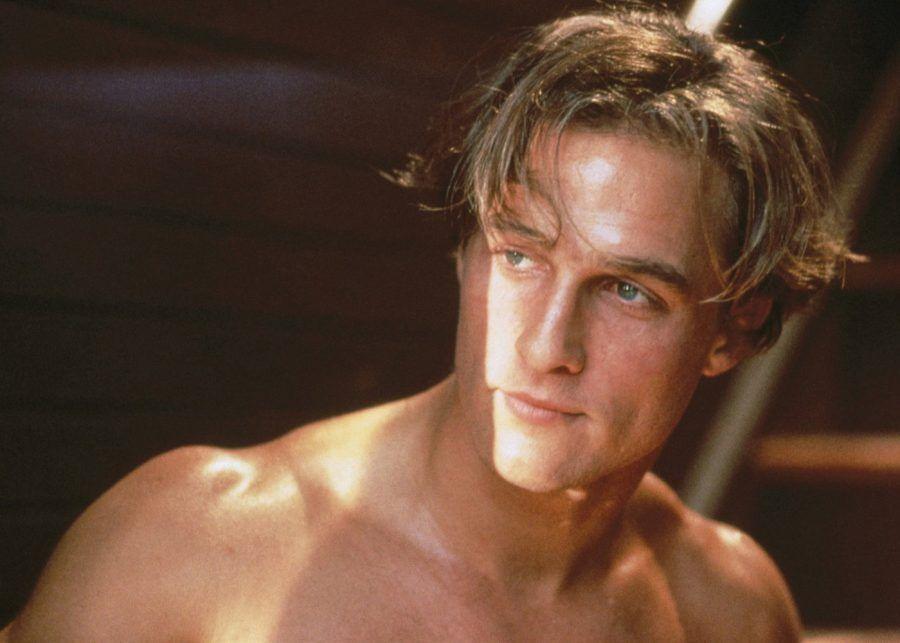 Matthew McConaughey giovane