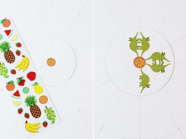 disegno stickers mandala