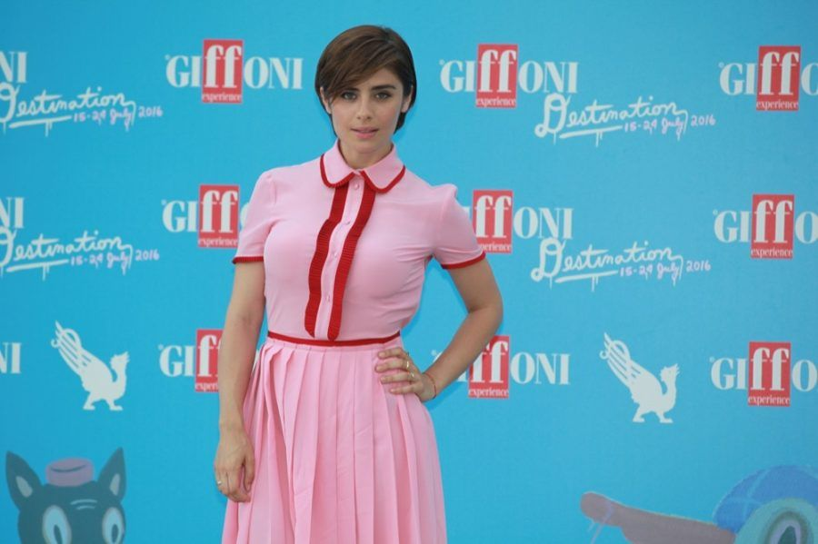 Greta Scarano ospite al Giffoni Film Festival 2016