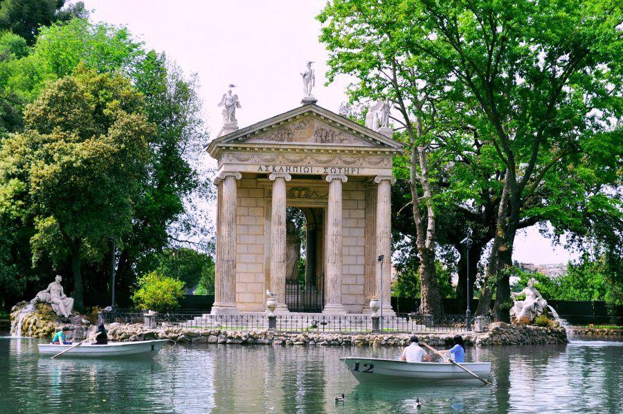 Le bellezze di roma capitale le ville pi belle da for Le piu belle ville