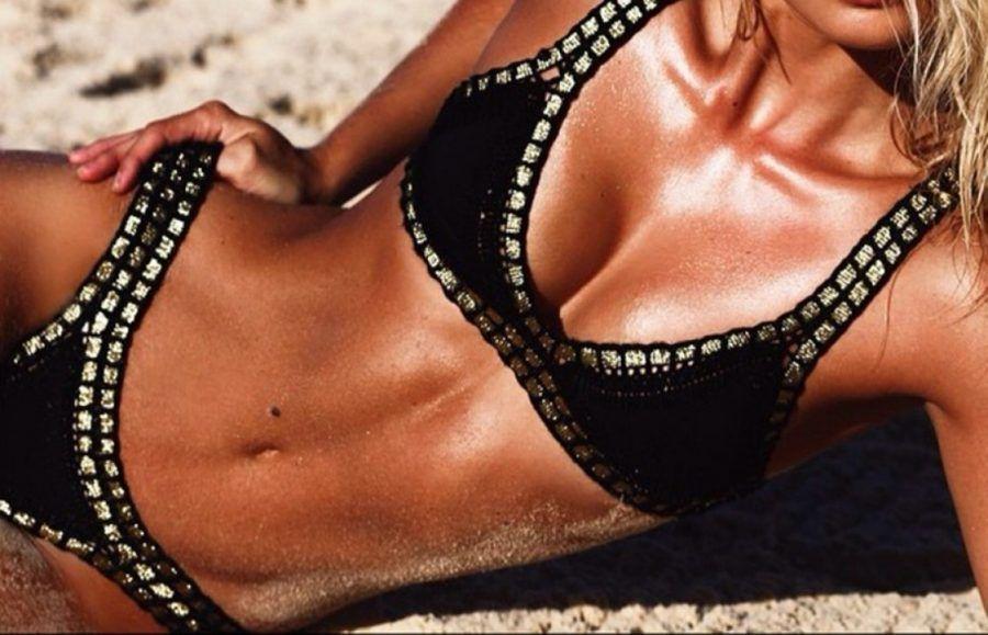 Bikini anti rotolini