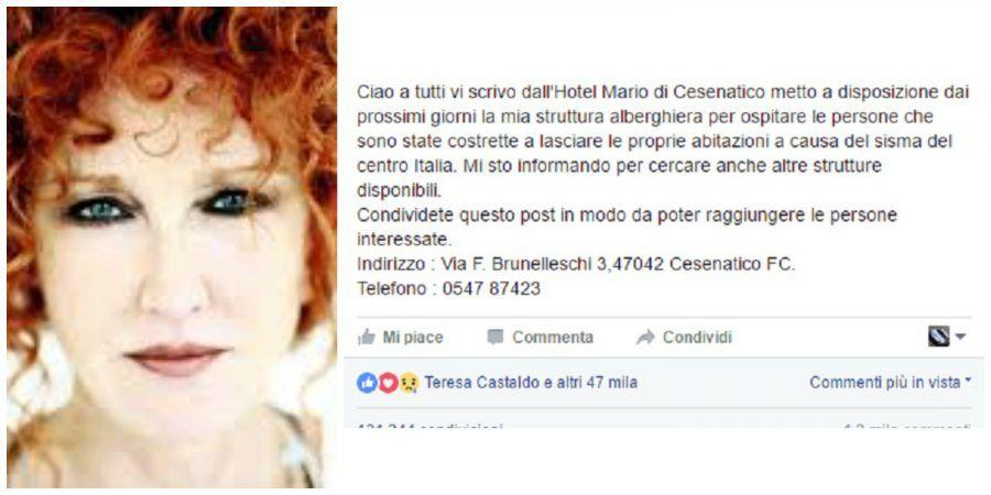 Bufala Fiorella Mannoia