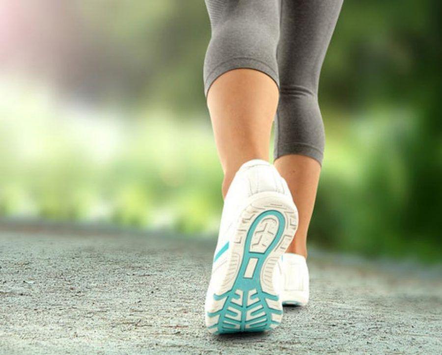Mettiamo le scarpe da ginnastica e camminiamo!