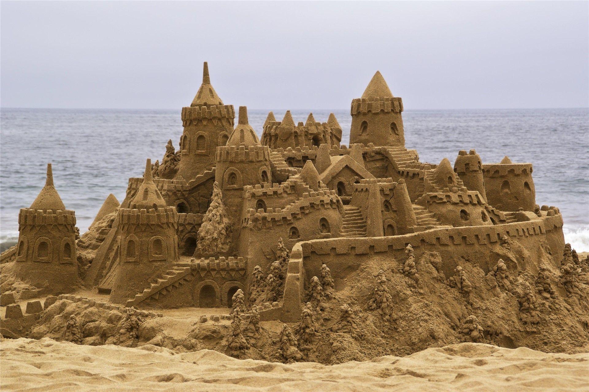 Favoloso Tutti i trucchi per fare un castello di sabbia che sembra vero  OG38