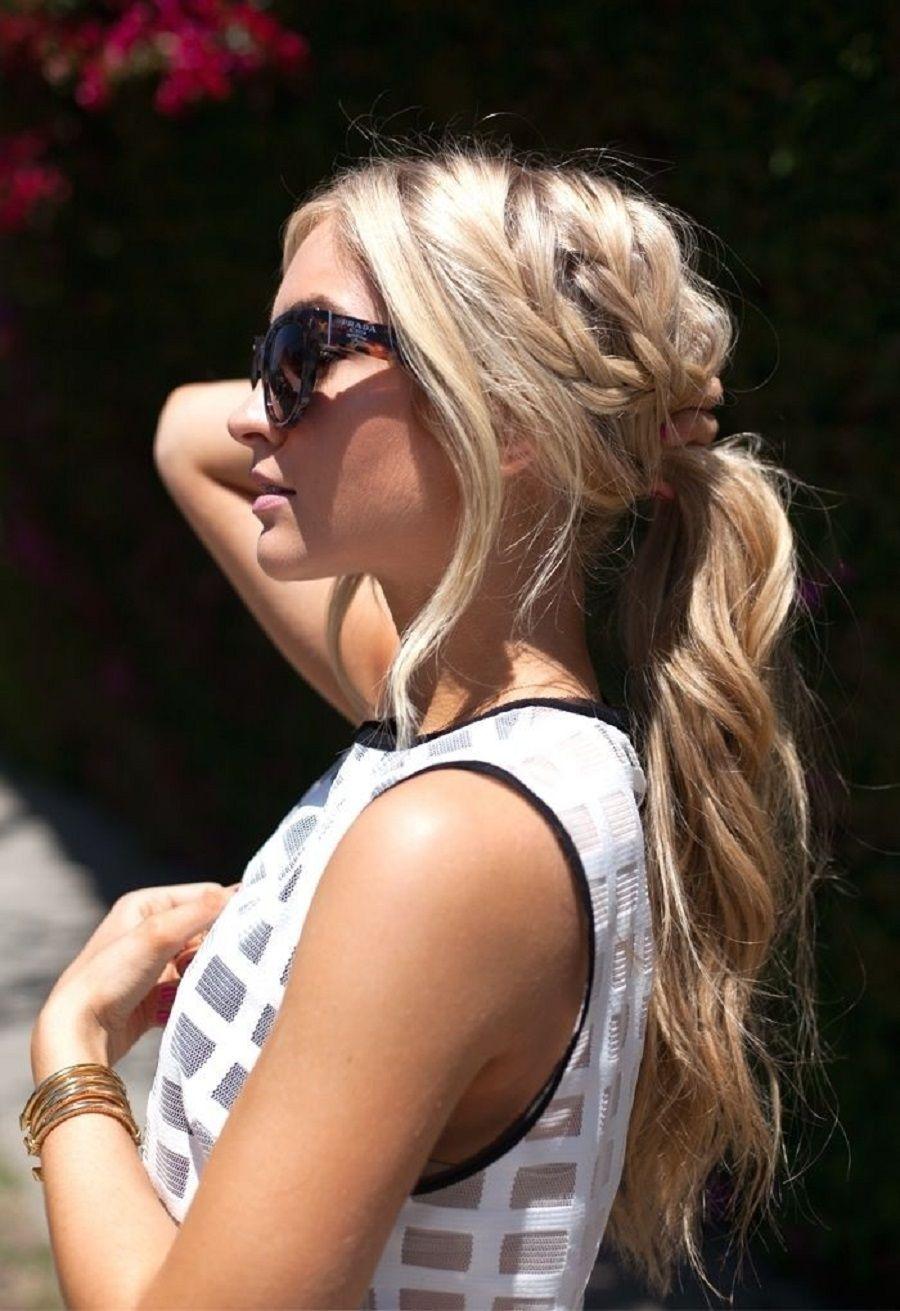 Casual-Braid-ponytail