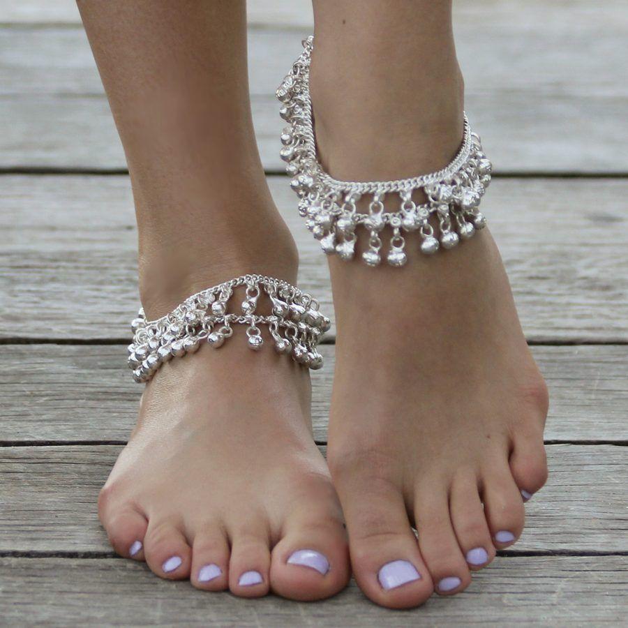 Cavigliera con pendenti