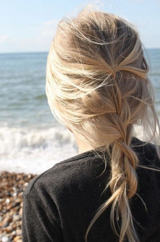 Loose-Messy-Braid-Long-Hair-for-Summer