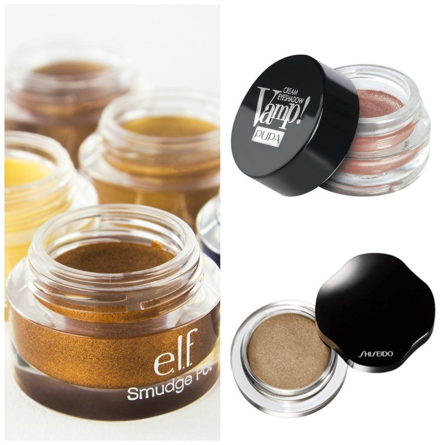 Shimmering Cream Eye Color Shiseido; smudge pot; cream eyeshadow Pupa