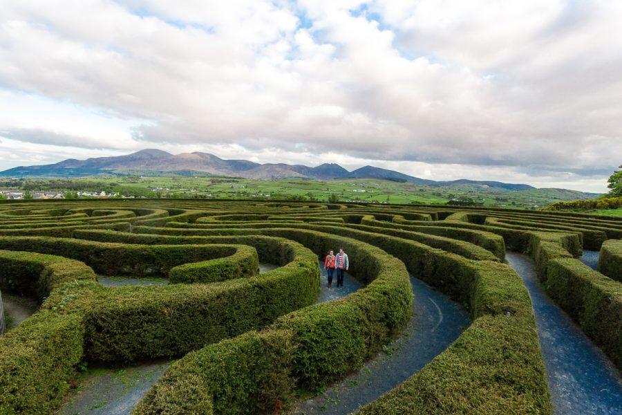 Peace Maze (Castlewellan Forest Park)