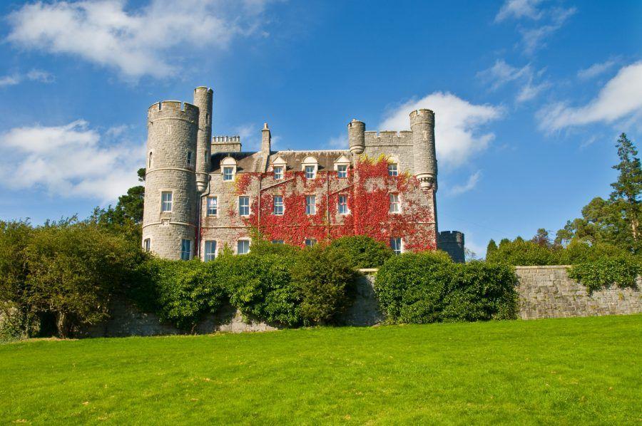 The castle in Castlewellan