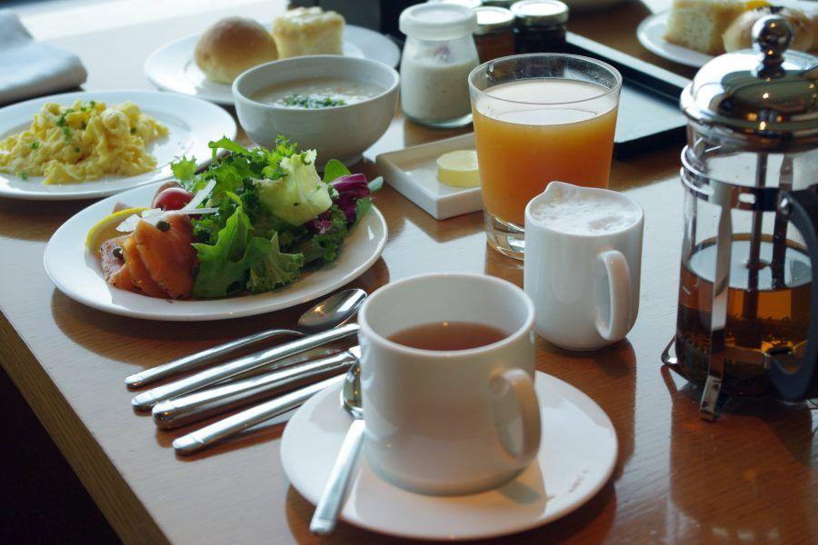 Buona e ricca la colazione continentale!