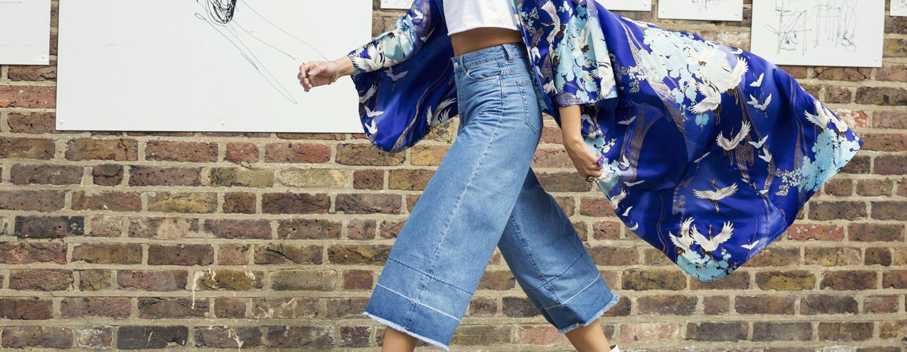 Come indossare i culotte di jeans anche d'estate