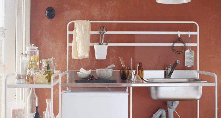 Ikea lancia la sua cucina da 100 euro bigodino for Cucina sunnersta