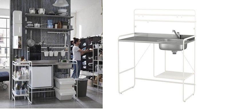 Ikea lancia la sua cucina da 100 euro bigodino - Cucina ikea piu economica ...