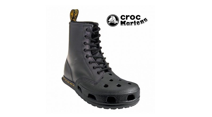 croc martens ebay