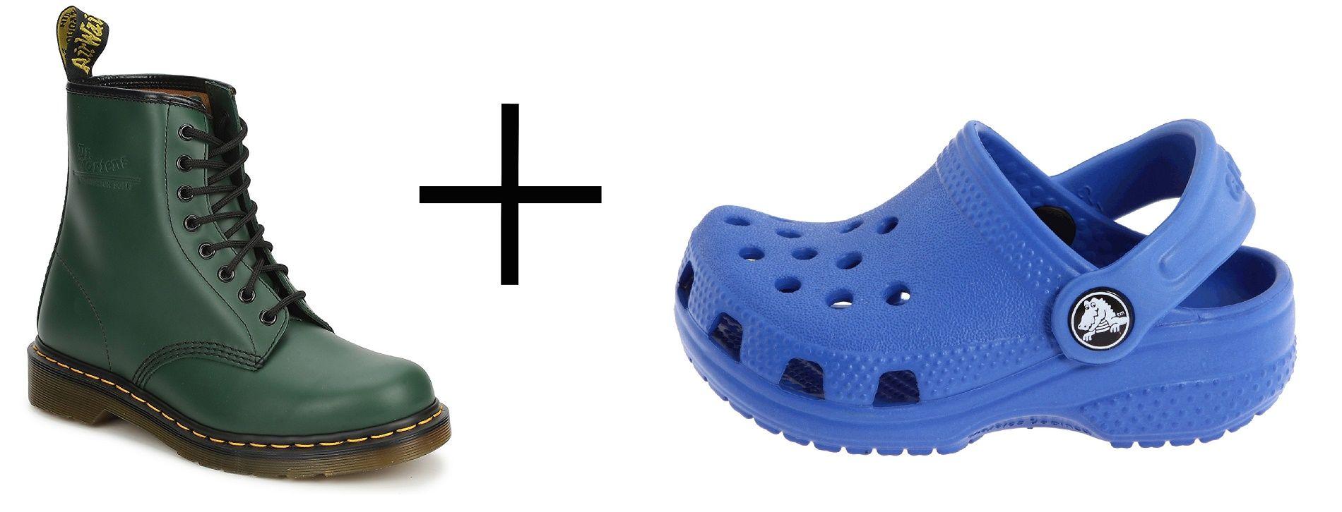 Cosa succede se le Dr Martens incontrano le Crocs?