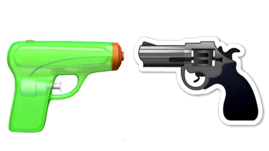 L'emoji pistola diventa un giocattolo!