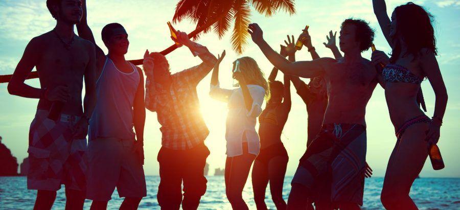 festa sulla spiaggia? perché no!