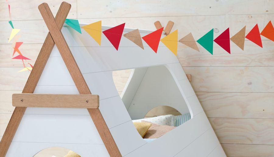 Come creare una capanna fatta in casa bigodino - Creare una piantina della casa ...