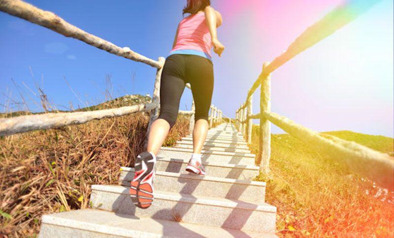salire le scale è una buona abitudine