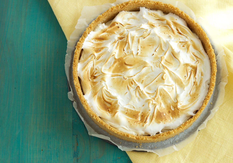Lemon pie senza cottura