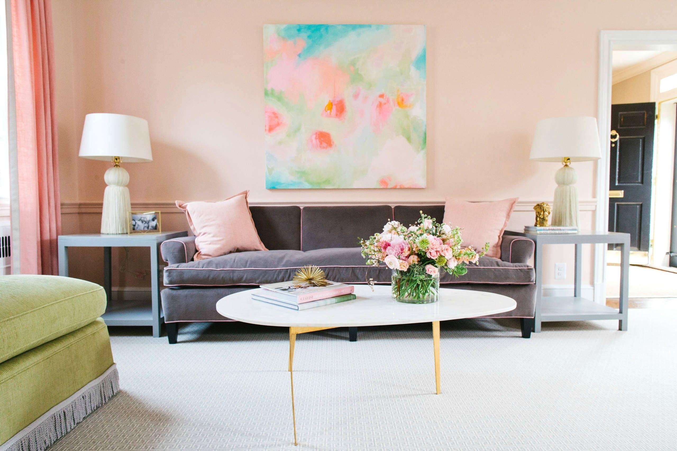 Vai a vivere da sola? Scegli colori pastello per arredare la tua casa