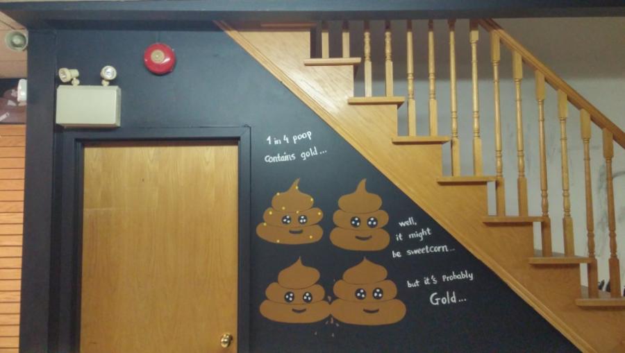 Poop Cafè, i bagni