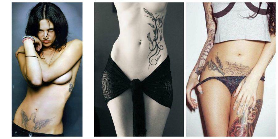 tatuaggi sulla pancia e il basso ventre