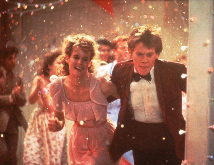 Kevin Bacon nel film Footlose