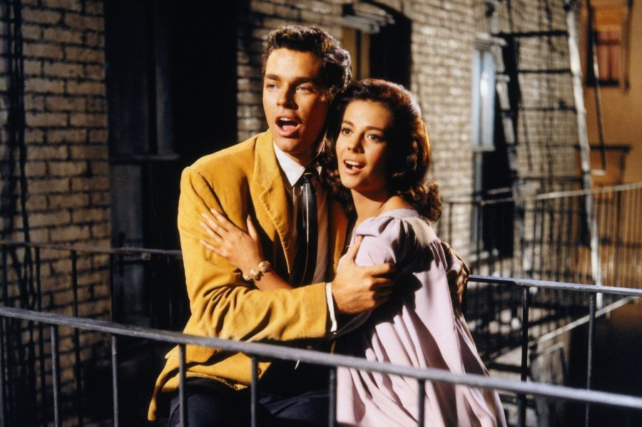 Scena dal film West Side Story