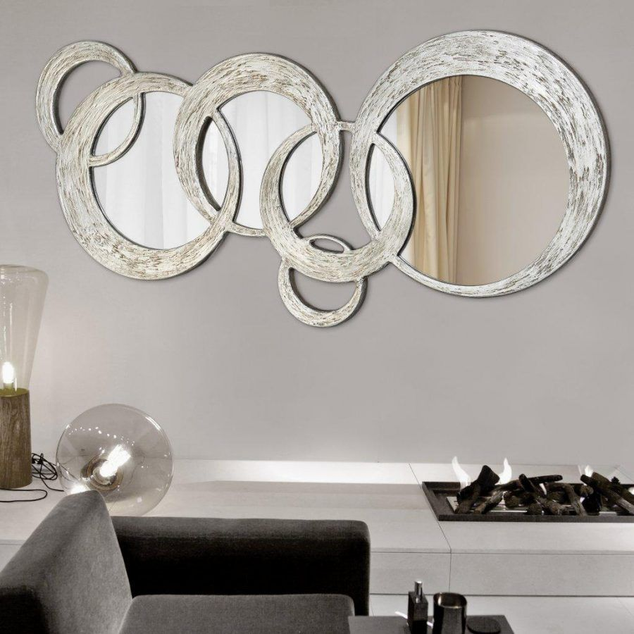 Come arredare casa con specchi decorativi alle pareti for Grand miroir salon design