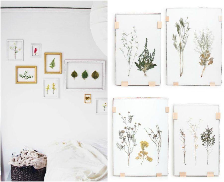 Tutorial come fare un quadro con foglie e fiori essiccati - Quadri fatti in casa ...