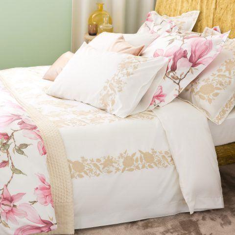 COPRIPIUMINO COTONE PERCALLE CON RICAMO - per un letto 150/160cm / 240 x 220 cm, prezzo 89,99 euro
