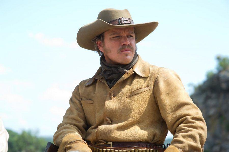 Matt Damon nel film Il Grinta