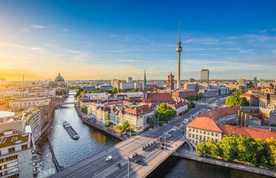 Vista mozzafiato su Berlino