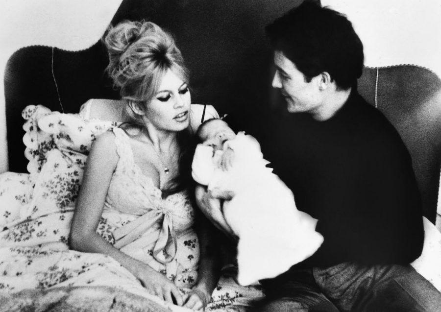 Brigitte Bardot e Jacques Charrier, padre del suo unico figlio