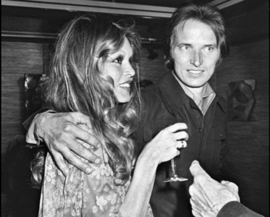 Brigtte Bardot con Bernard d'Ormale, suo attuale compagno