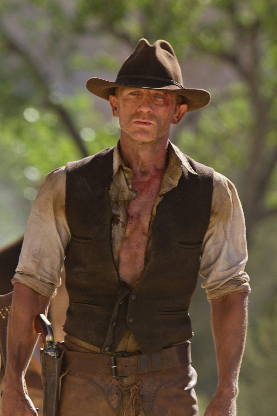 Daniel Craig nel film Cowboys & Aliens