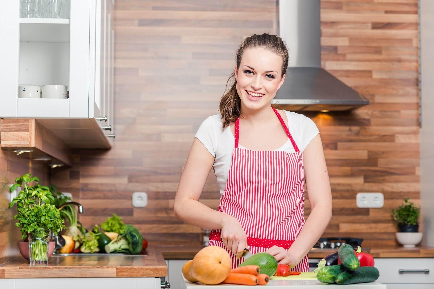 In cucina!