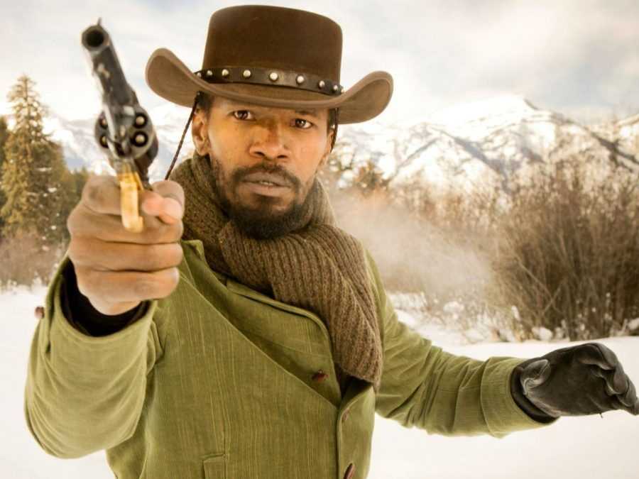 Jamie Foxx nel film Django Unchained