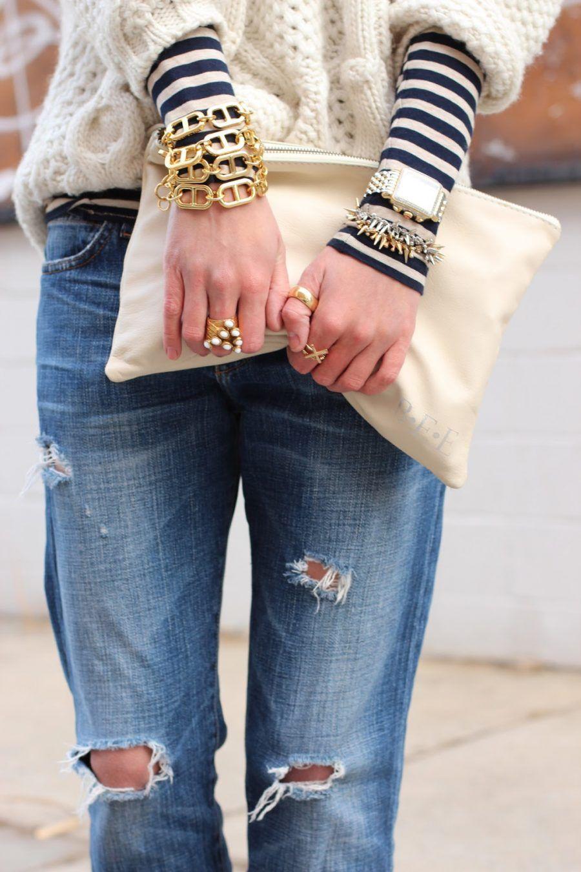 Jeans strappati fai da te
