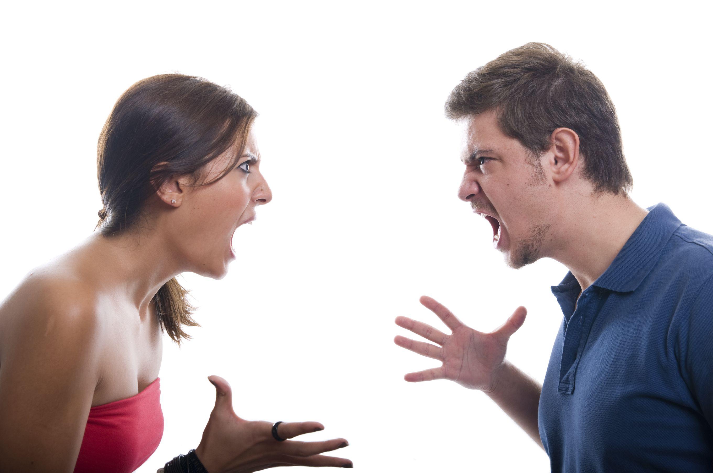 Risultati immagini per coppia che litiga