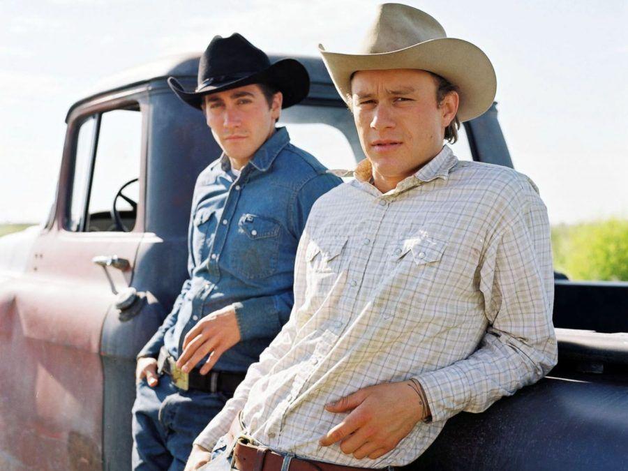 Heath Ledger e Jake Gyllenhaal nel film I Segreti di Brokeback Mountain