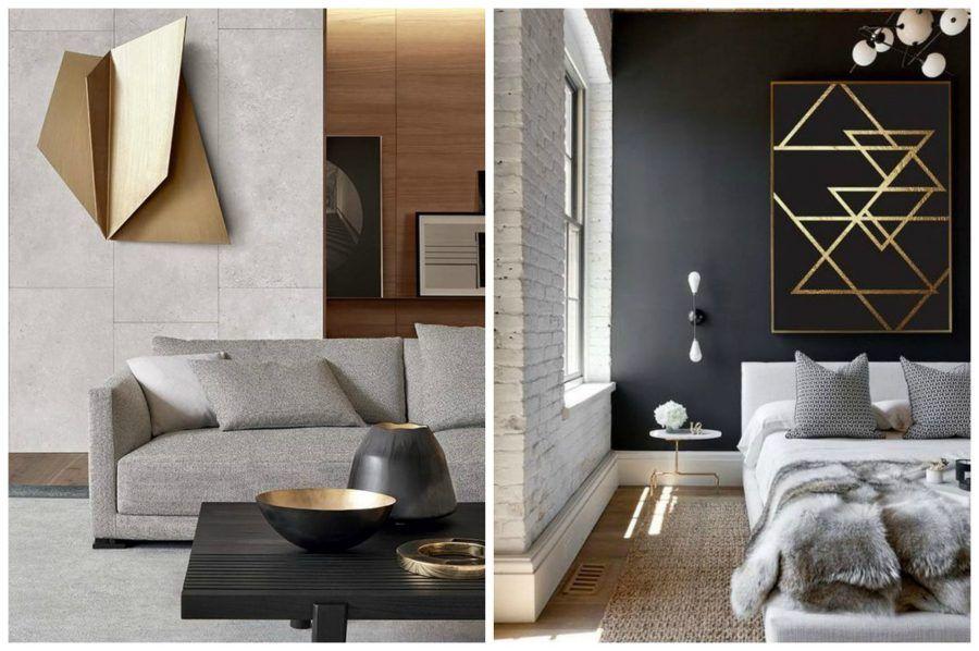 Torna di moda il color oro per arredare casa bigodino for Casa complementi d arredo