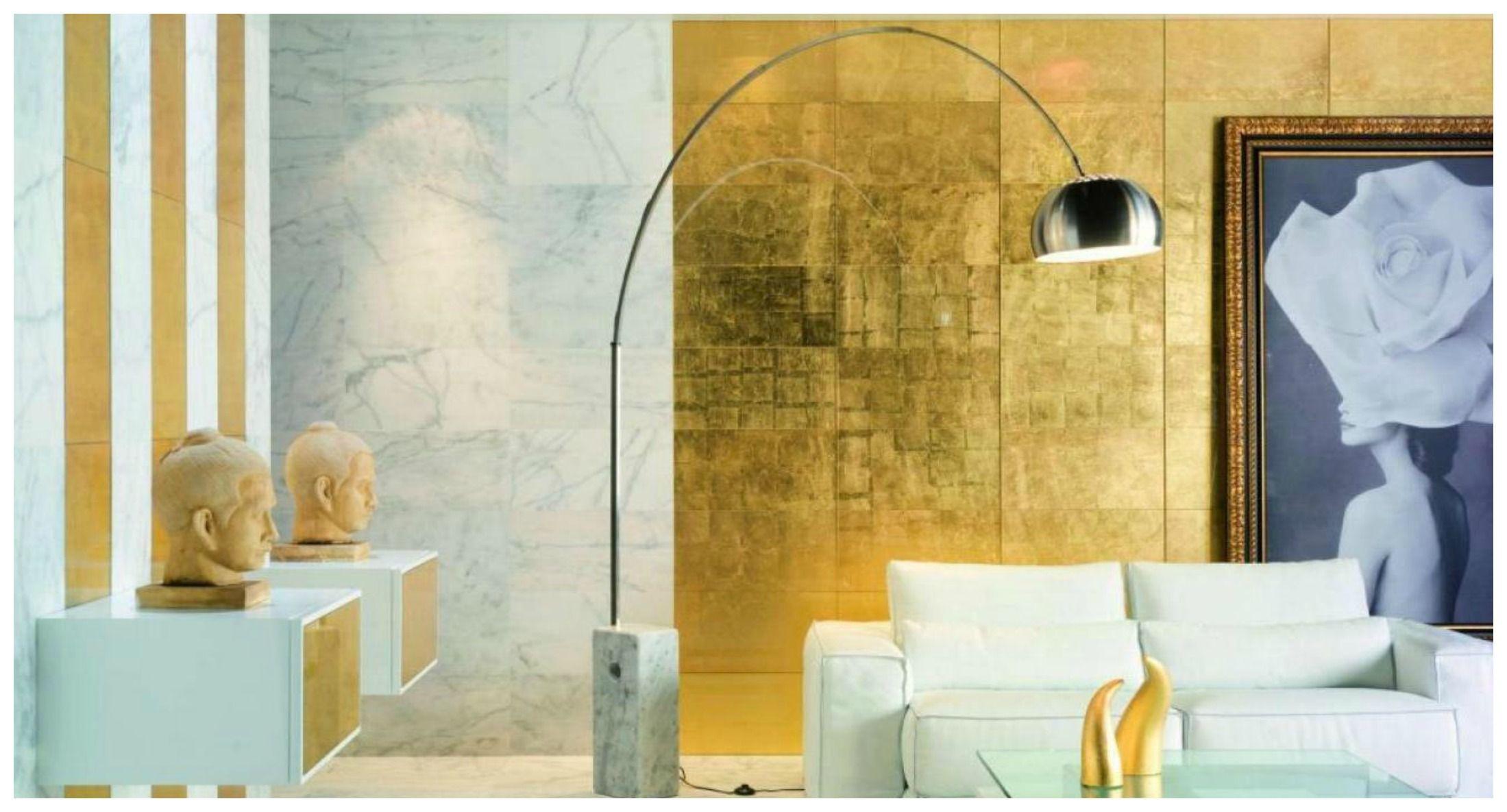 Pareti Bianche E Oro : Torna di moda il color oro per arredare casa bigodino