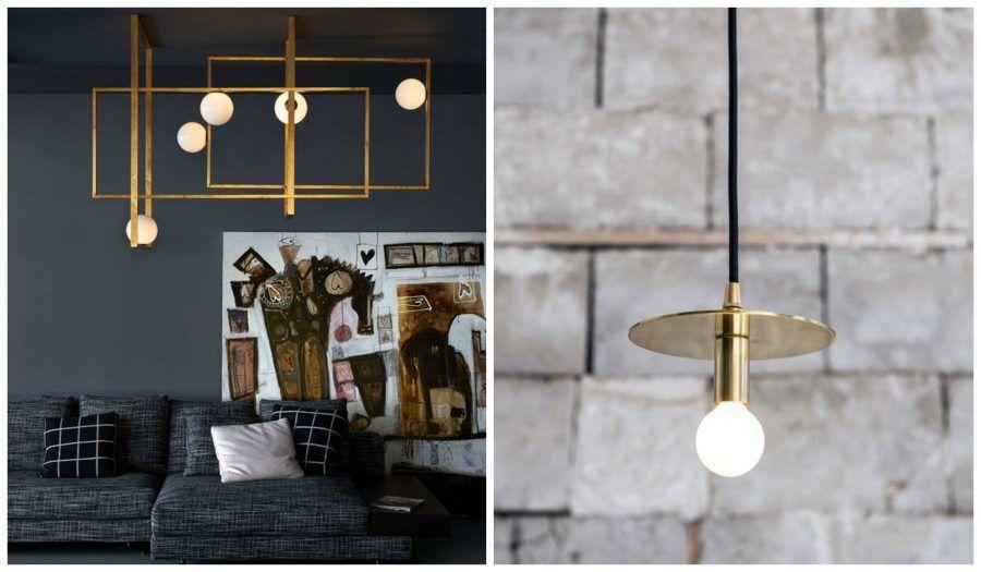 Torna di moda il color oro per arredare casa bigodino - Cucina moderna oro ...