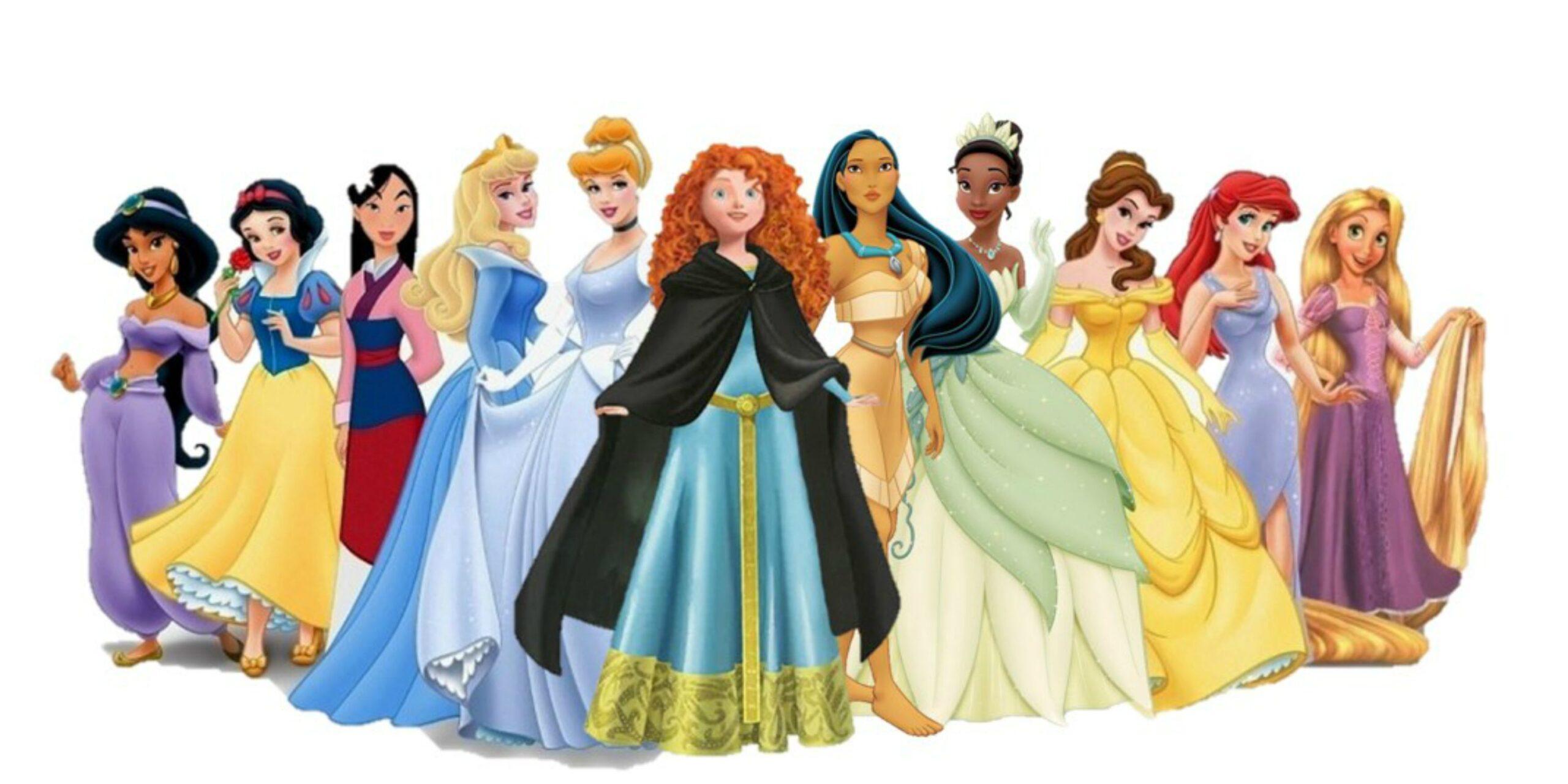 """Come sarebbero le protagoniste Disney con un fisico """"curvy""""?"""