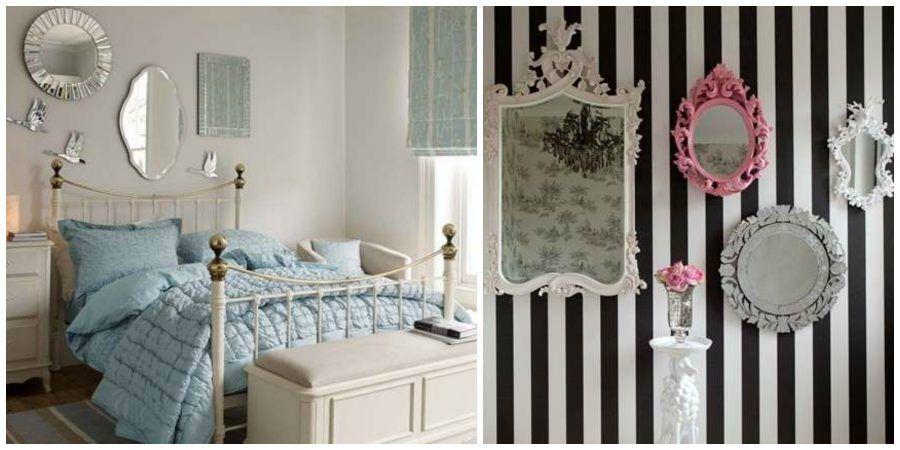 Come arredare casa con specchi decorativi alle pareti for Arredare con gli specchi