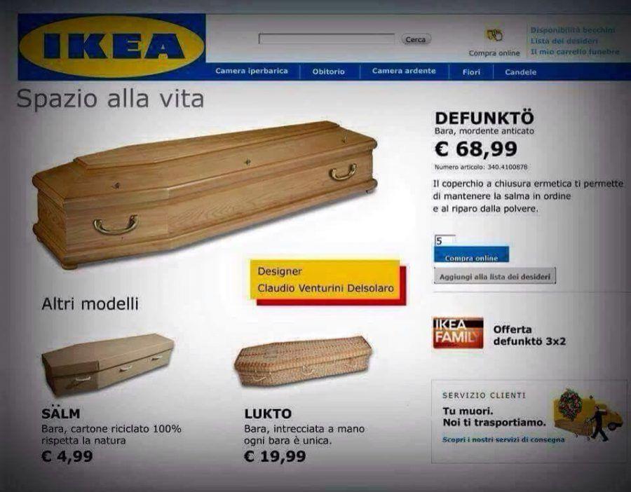 Perché Le Bare Ikea Sono Una Bufala Ma Non Lo Sono Quelle Da